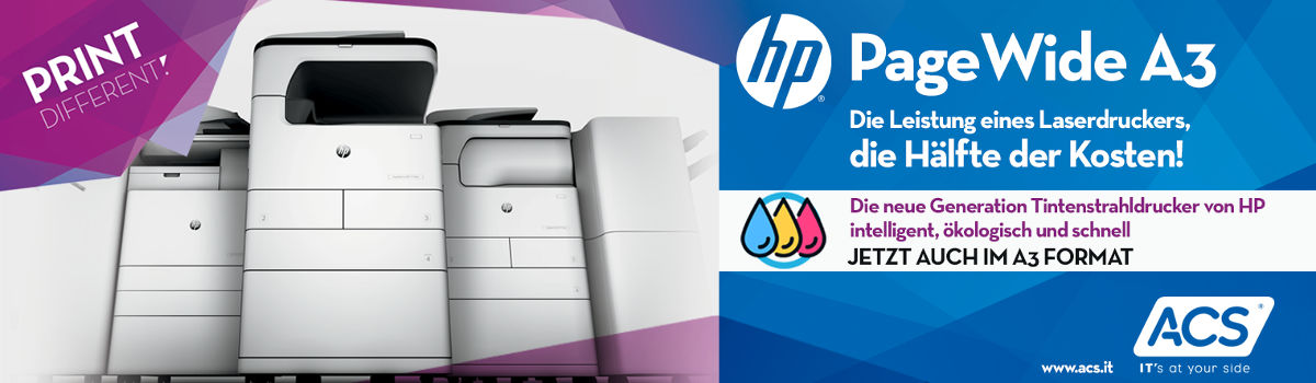 Print different: HP PageWide A3