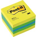 POST-IT Haftnotizwürfel Mini limone