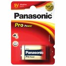 PANASONIC Batterie Pro Power alkali 1,5V 9 V-Block