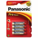 PANASONIC Batterie Pro Power alkali 1,5V AAA (Micro)