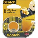SCOTCH Doppelklebeband  B 12 mm x L 6,3 m