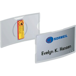 DURABLE Namensschild konvex mit Magnet