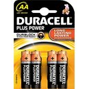 DURACELL Batterie Plus Power AA (mignon) Inh.4 St.