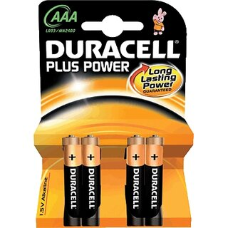 DURACELL Batterie Plus Power AAA (Micro) Inh.4 St.