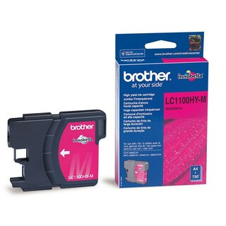 Brother LC-1100HYM Inkjet Tintenpatrone High Yield 1100 magenta