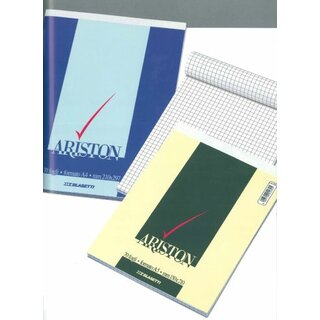 Notizblock Ariston A5 60gr liniert 1R 70Bl. 1067 150x210