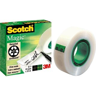 SCOTCH Magic 810 Klebeband unsichtbar  33 m x 19 mm